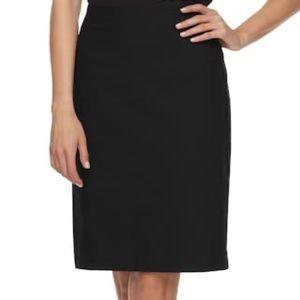 Briggs black pencil skirt